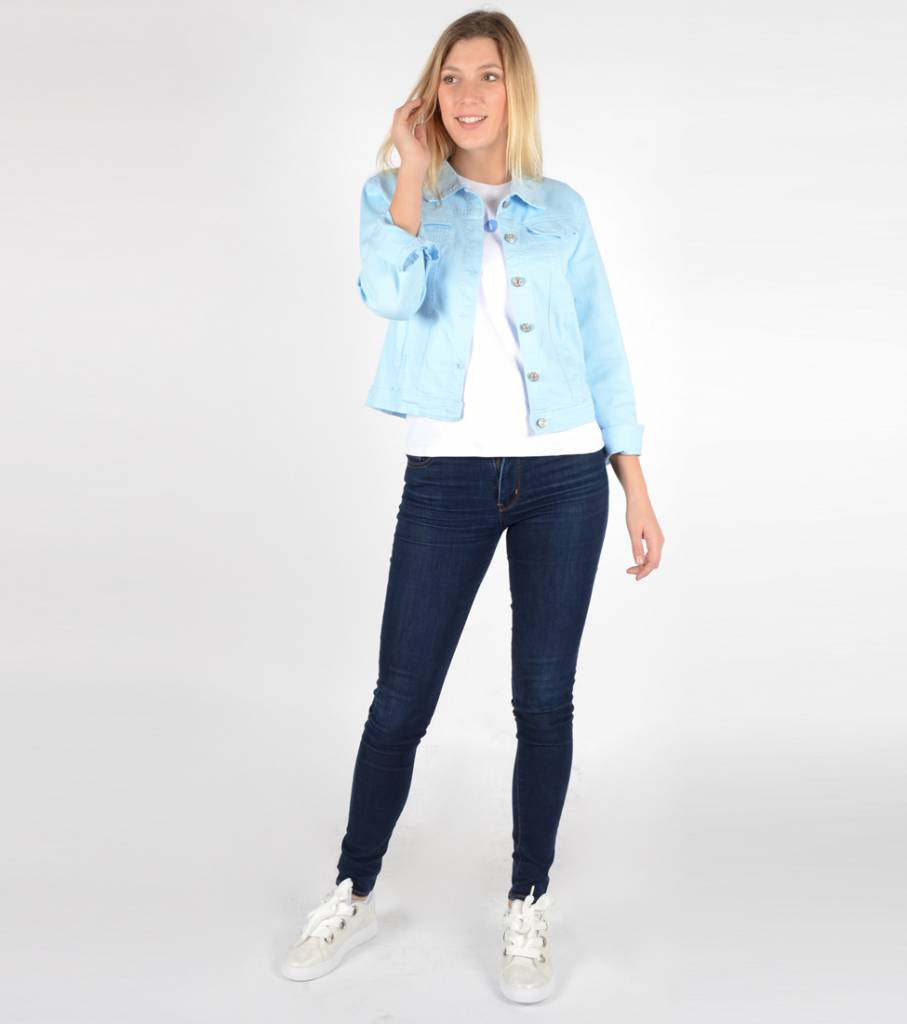 FAVORITE JEANS VEST BLUE