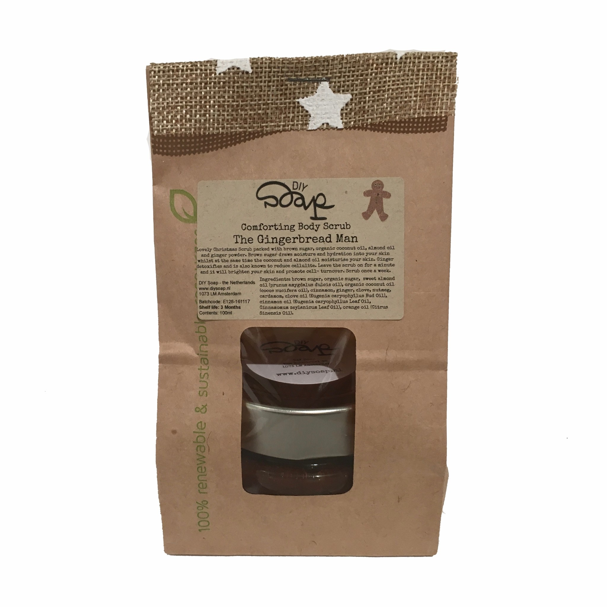 The Gingerbread Man Body Scrub