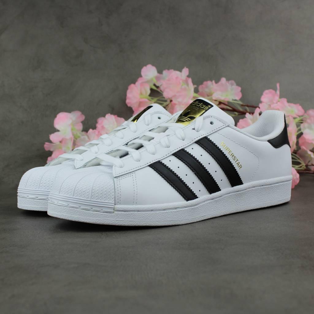Adidas Superstar Jr (White/Black)