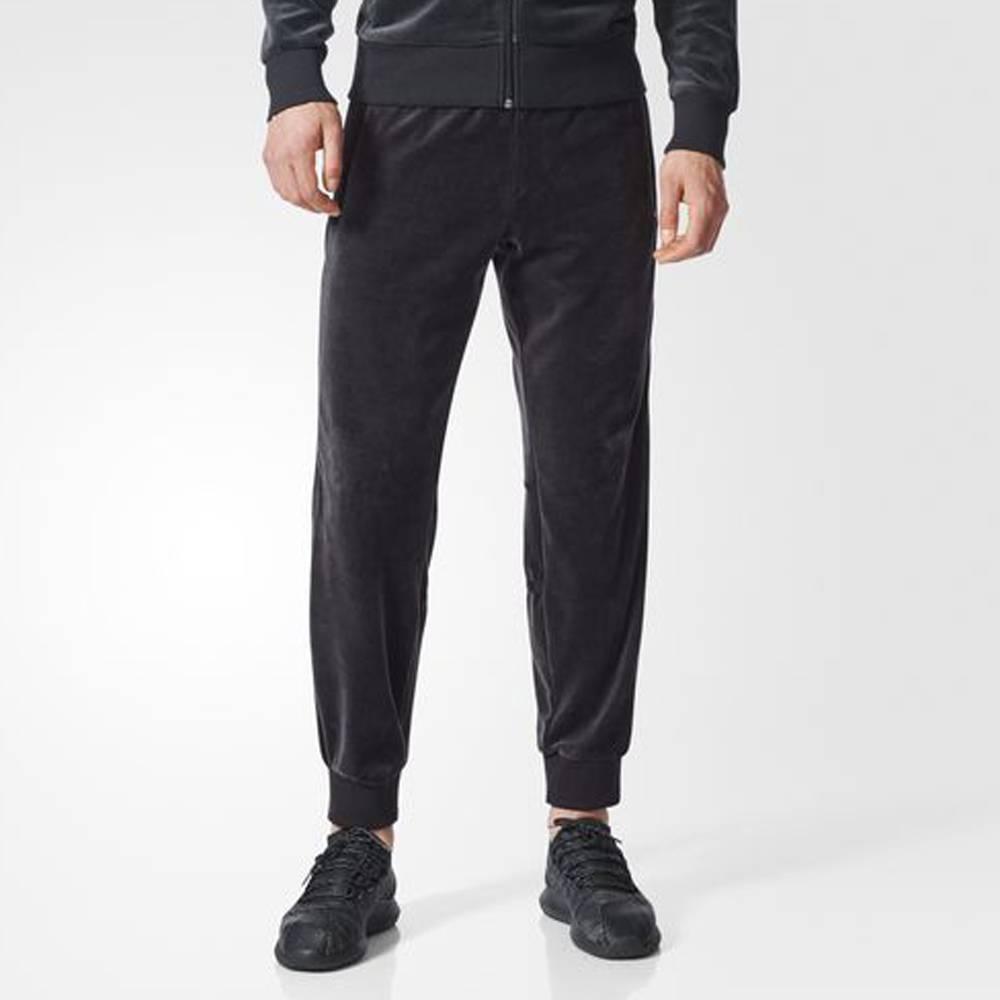 Adidas Challenger Velour Track Pants (Black)