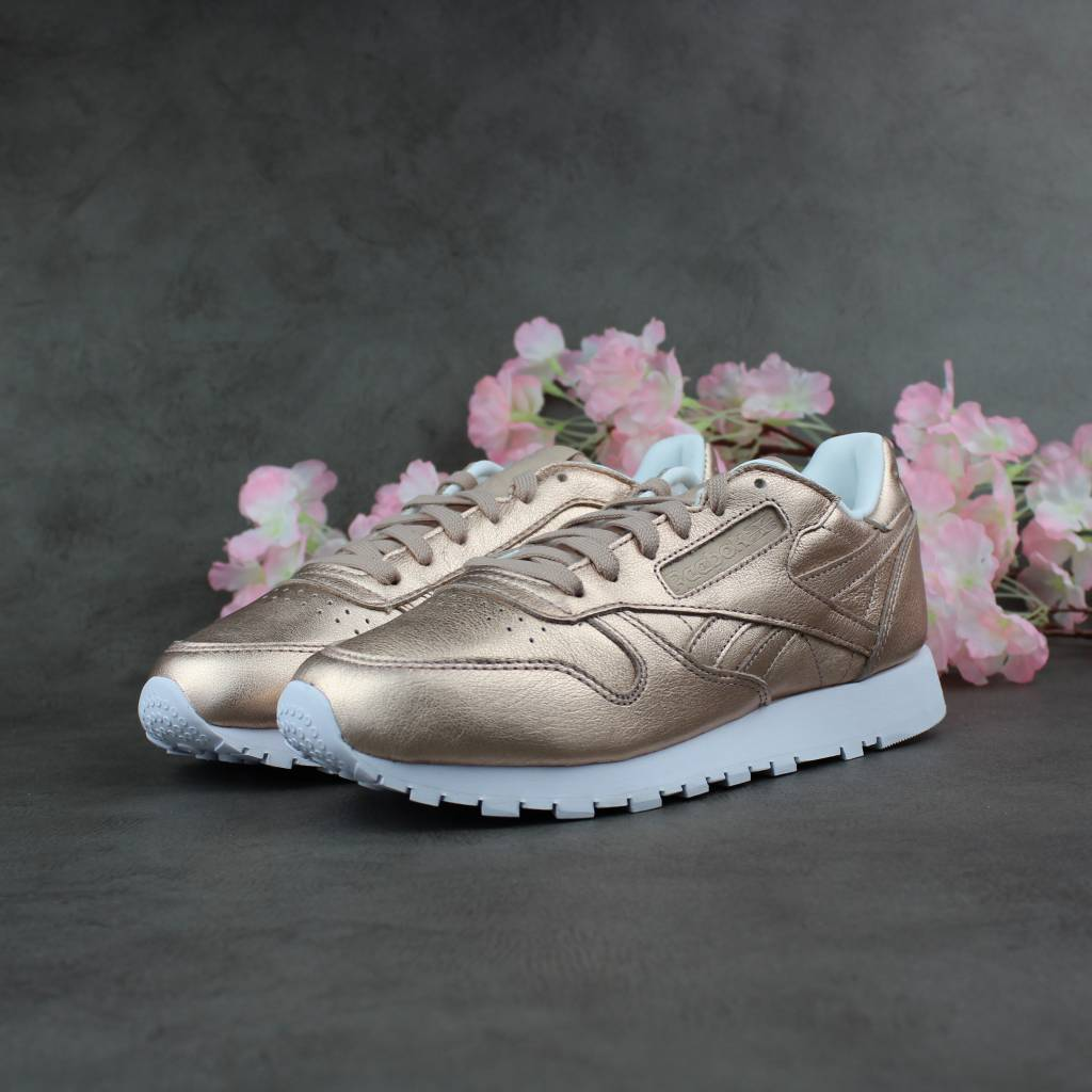 Reebok CL Leather Melted Metal