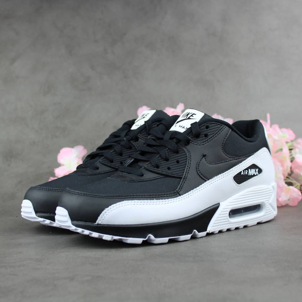 top quality nike air max 90 essential black white 537384 082