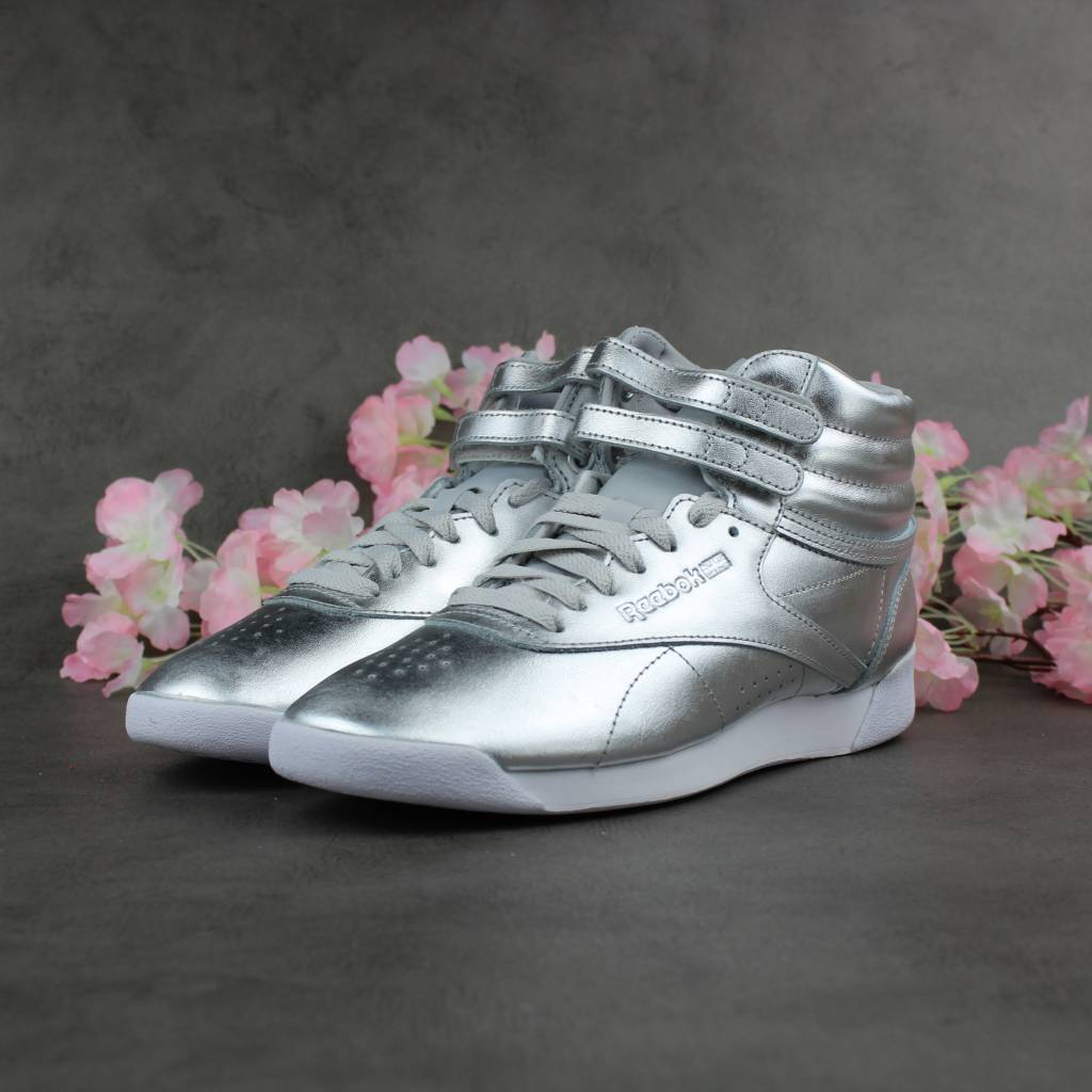 Reebok F/S Hi Metallic BS9944 (Silver)