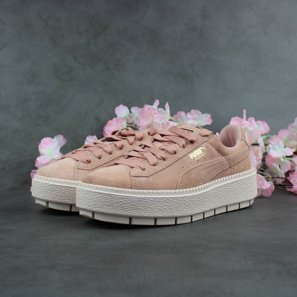 puma sneaker platform trace