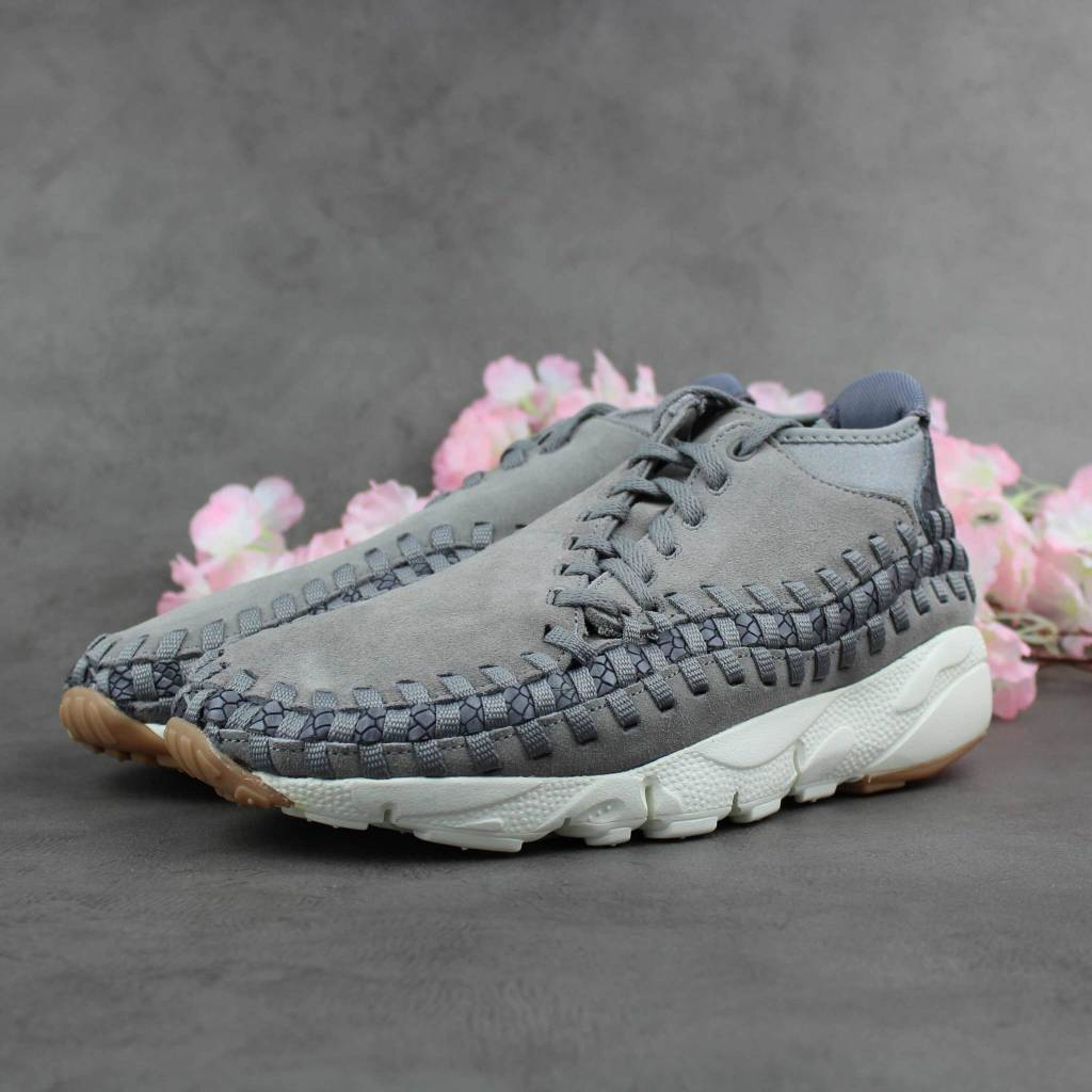 Nike Air Footscape Woven Chukka Premium 446337-003 (Flat Pewter)