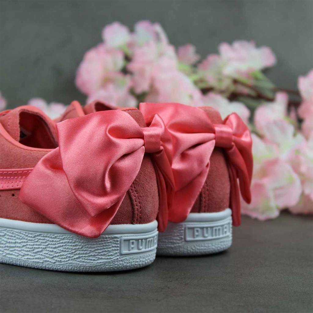 Puma Suede Bow Wn's (Shell Pink) 367317-01