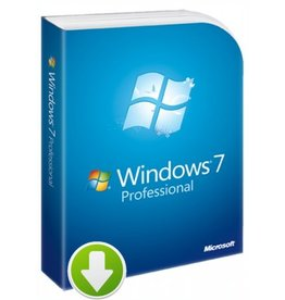 Windows 7 Professional Download 5PCs 32 / 64 Bit