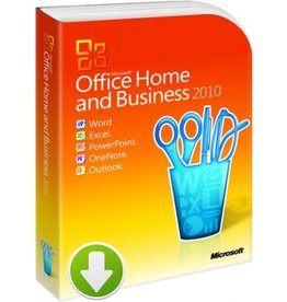 Office Home and Business 2010 Download 2PCs