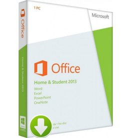 Office Home and Student 2013 Download 5PCs