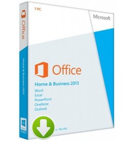 Office Home and Business 2013 Download 2PCs