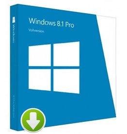 Windows 8.1 Pro Download 3PCs 32 / 64 Bit