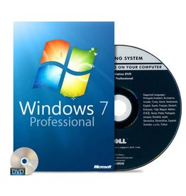 Windows 7 Professional 32 & 64 Bit 1 PC