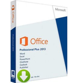 Office Professional Plus 2013 Download 2PCs