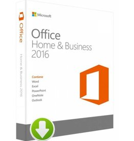 Office Home and Business 2016 Download 2PCs