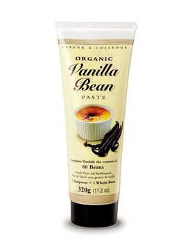 Taylor & Colledge Vanilla Bean Paste - Tube - BIO-320g