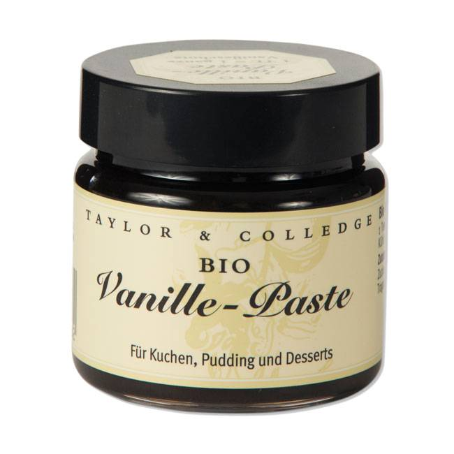 Taylor & Colledge Vanilla Bean Paste - BIO-65g