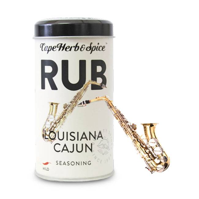 Cape Herb & Spice Rub Louisiana Cajun 100g