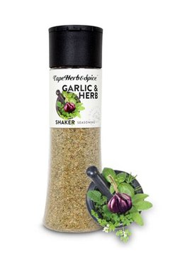 Cape Herb & Spice Shaker Garlic & Herb 270g