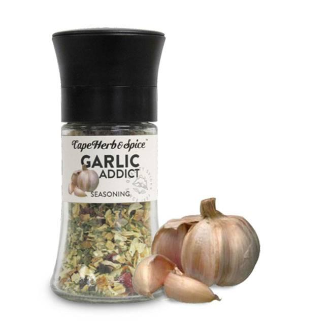 Cape Herb & Spice FB Garlic Addict 40g  - MHD19.02.2018