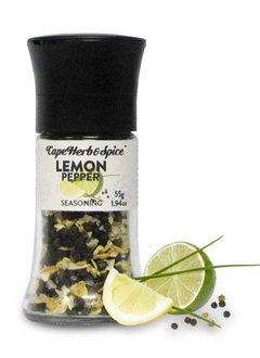 Cape Herb & Spice FB Lemon Pepper Grinder 55g