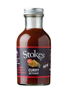 Stokes Curry Ketchup - 10%
