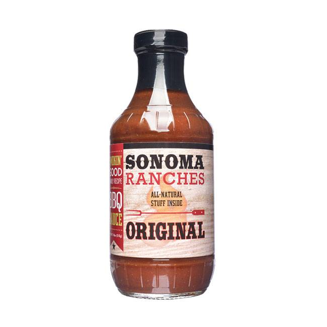 Sonoma Ranches BBQ Sauce Original 455ml