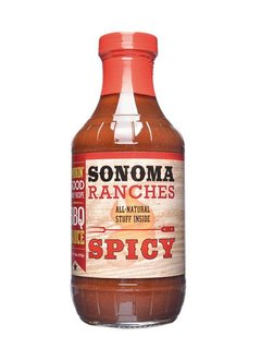Sonoma Ranchers Spicy BBQ Sauce 455ml