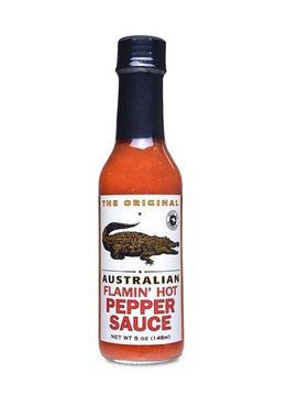 The Original Australian Flamin Hot Pepper Sauce