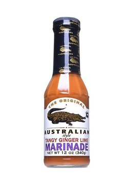 The Original Australian Tangy Ginger Lime Marinade