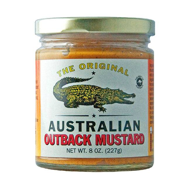 The Original Australian Australian Outback Mustard 215ml