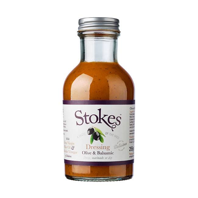 Stokes Olive & Balsamic Dressing 241ml