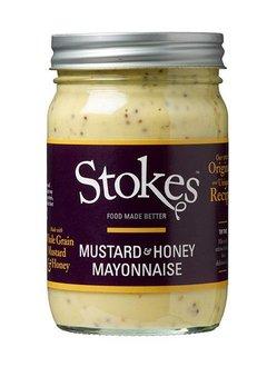 Stokes Mustard & Honey Mayonnaise 360ml