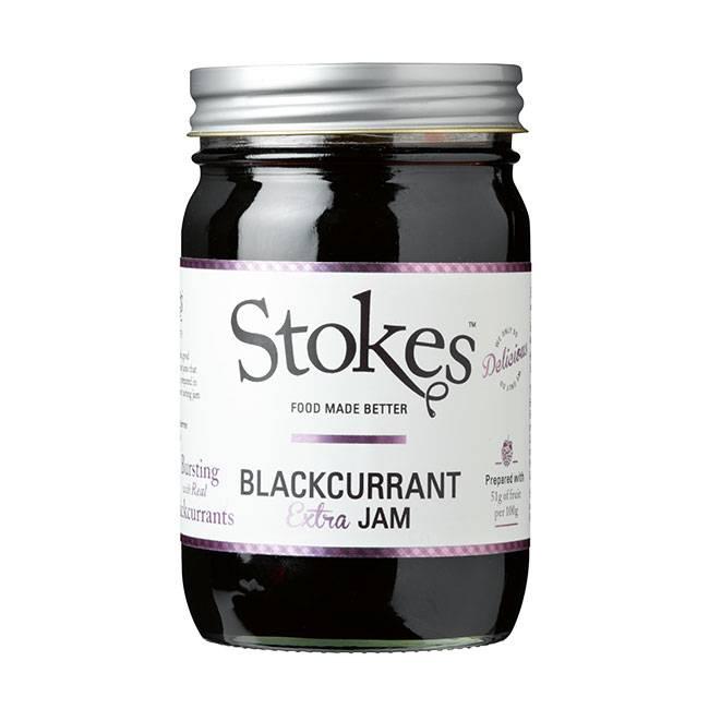 stokes blackcurrant extra jam 454g schwarze johannisbeermarmelade sydney frances we. Black Bedroom Furniture Sets. Home Design Ideas