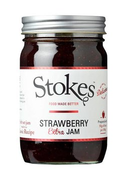 Stokes Strawberry Extra Jam 454g