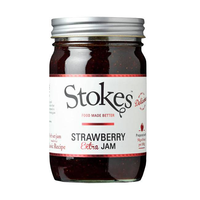 Stokes Strawberry Extra Jam