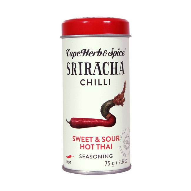 Cape Herb & Spice Rub Sriracha Chilli 75g