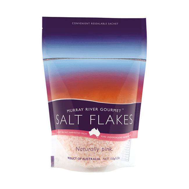 Murray River Salt Pink Salt Flakes 150g
