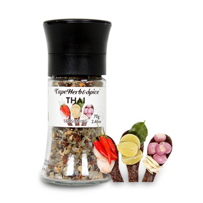 Cape Herb & Spice FB Thai Grinder 70g - MHD 19.02.2018