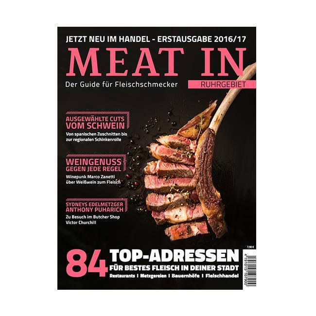 MEAT IN- Der Guide für Fleischschmecker-2016/17 - Ruhrgebiet