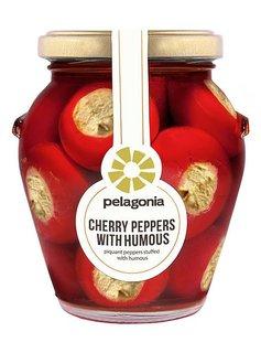 Pelagonia Cherry Peppers mit Hummus 280g