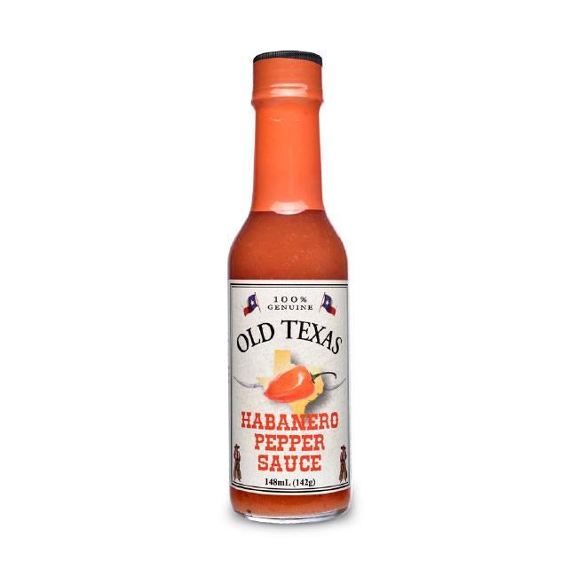 Old Texas Habanero Pepper Sauce