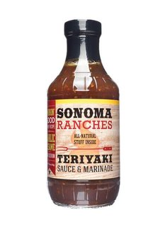 Sonoma Ranches Teriyaki Sauce & Marinade 455ml