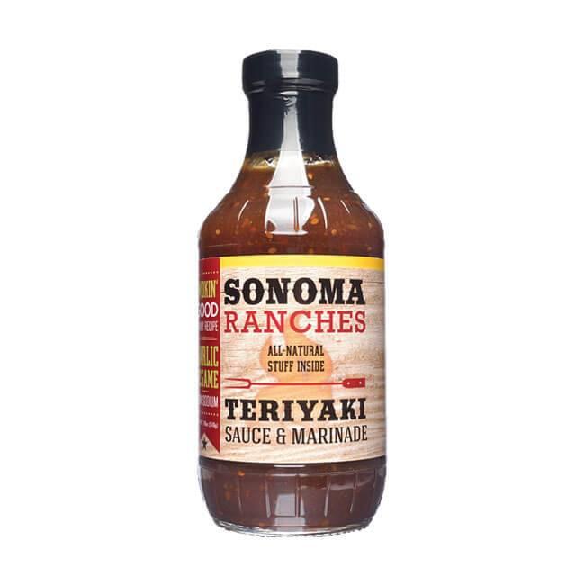 Sonoma Ranches Teriyaki Sauce & Marinade