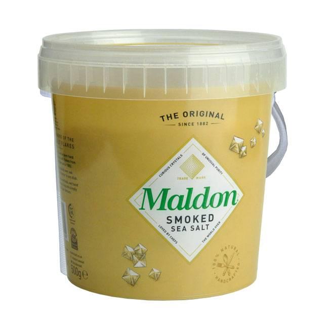 Maldon Sea Salt Smoked Sea Salt 125g oder 500g