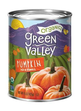 Green Valley Green Valley Pumpkin - Kürbispüree, BIO 425g
