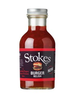 Stokes Burger Relish 265ml