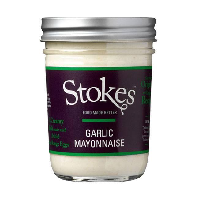 Stokes Garlic Mayonnaise (Aioli) 224ml - Sonderpreis wg MHD Ende JAN 2019