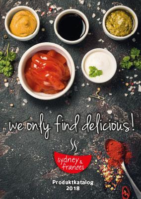Produktkatalog  Sydney & Frances 2018