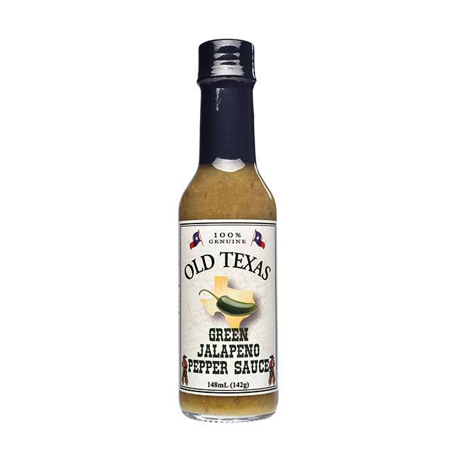 Old Texas Green Jalapeno Pepper Sauce