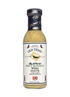 Old Texas Jalapeno Buffalo Wing Sauce 350ml